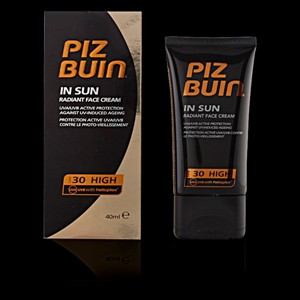 PIZ BUIN IN SUN radiant face cream SFP30 40 ml
